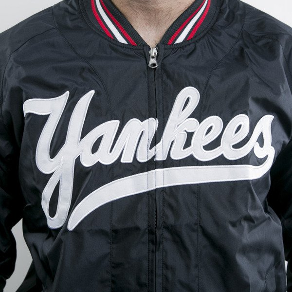 Majestic kurtka New York Yankees navy Ambrose Satin (A6NYY6504NVY012)
