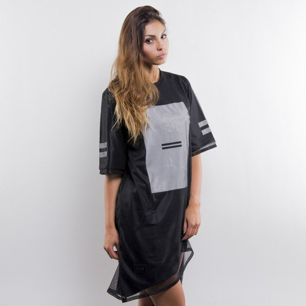 Majors koszulka t-shirt long STR black WMNS