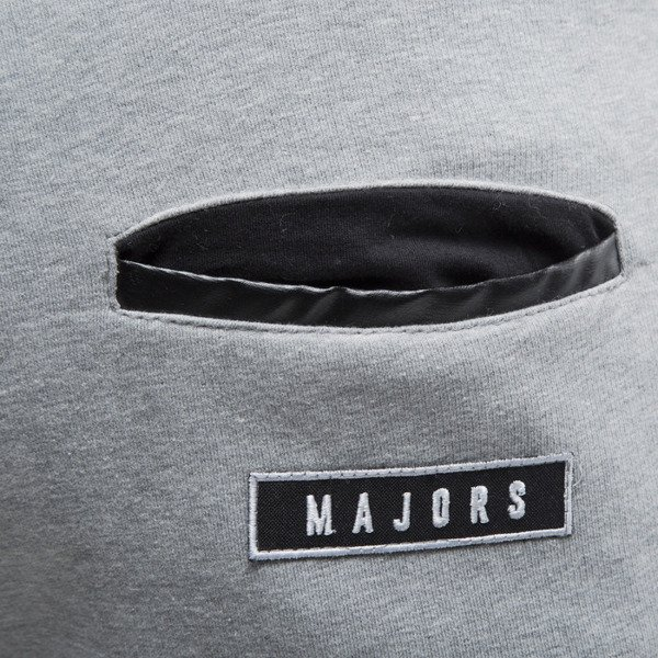 Majors szorty Label grey