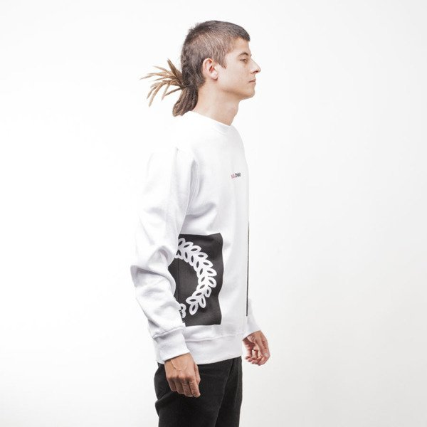 Mass Denim BLAKK bluza sweatshirt Memento crewneck white
