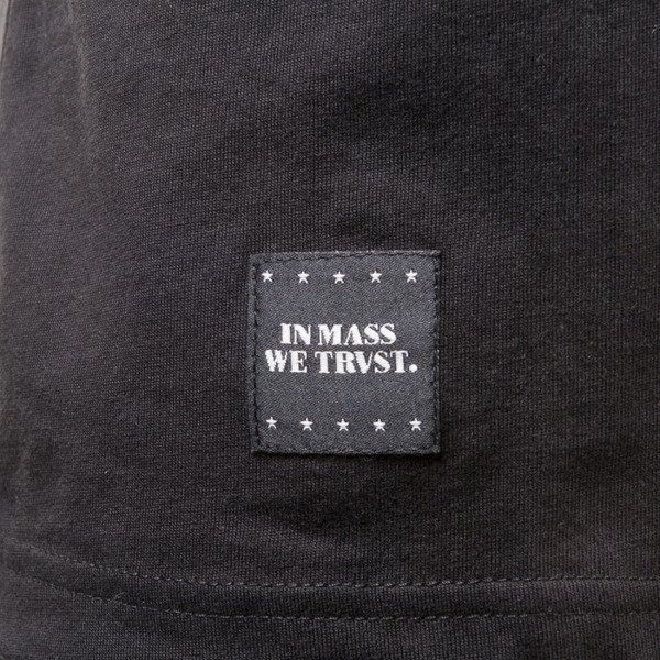 Mass Denim BLAKK koszulka t-shirt Slogan black