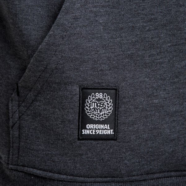 Mass Denim bluza Capitol Hoody dark heather grey