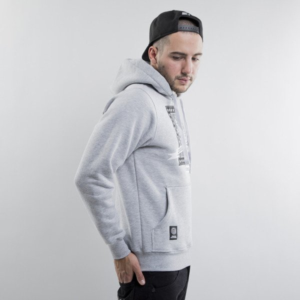 Mass Denim bluza Capitol Hoody light heather grey