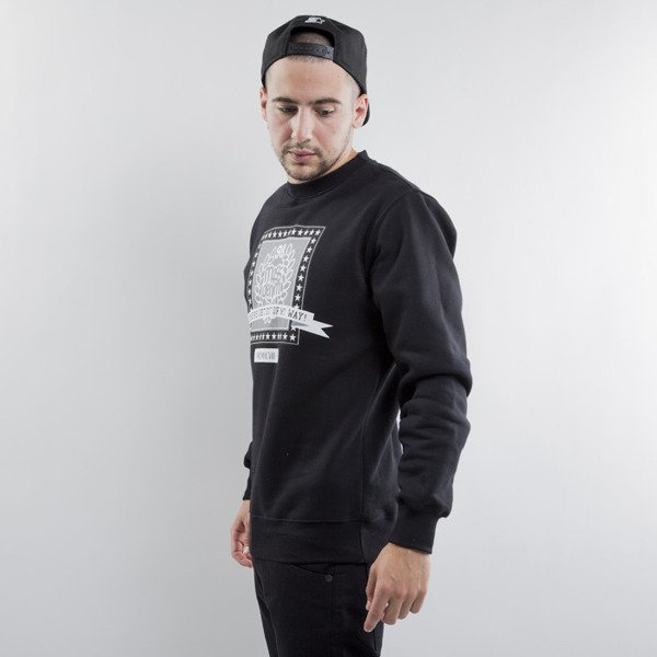 Mass Denim bluza Capitol crewneck black