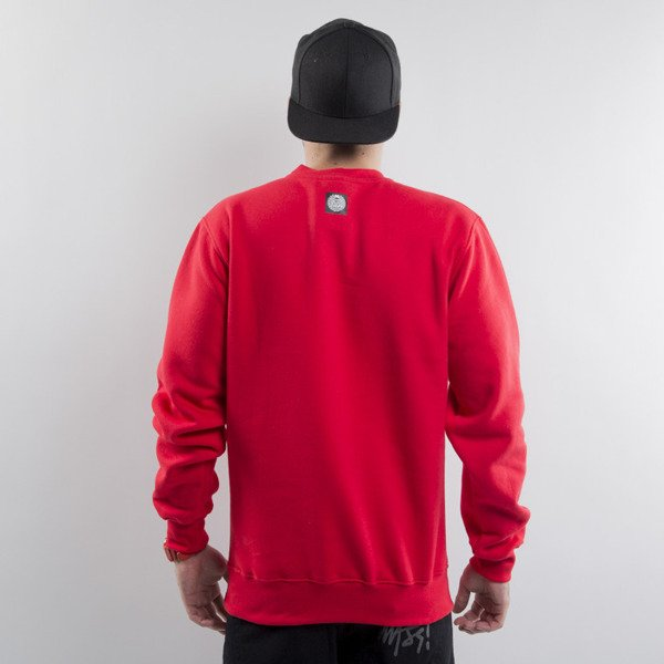 Mass Denim bluza Capitol crewneck red