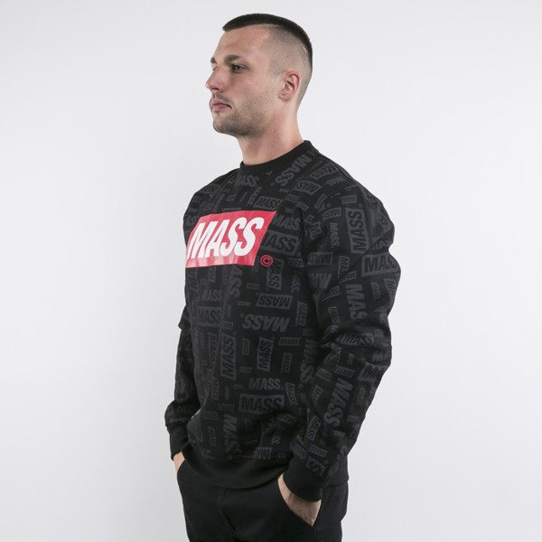 Mass Denim bluza The Logos crewneck black