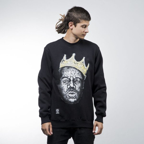 Mass Denim bluza sweatshirt Brooklyn Legend crewneck black
