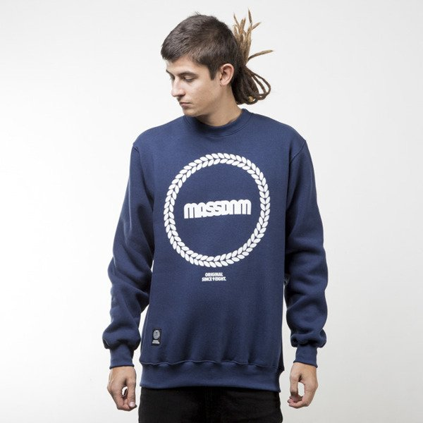Mass Denim bluza sweatshirt Ring crewneck navy