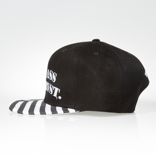 Mass Denim czapka snapback Empire white BLAKK