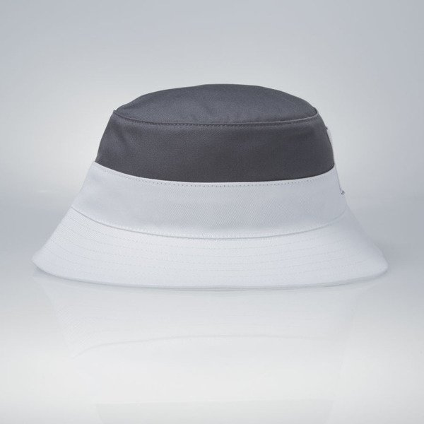 Mass Denim kapelusz bucket hat Pocket Base grey / white