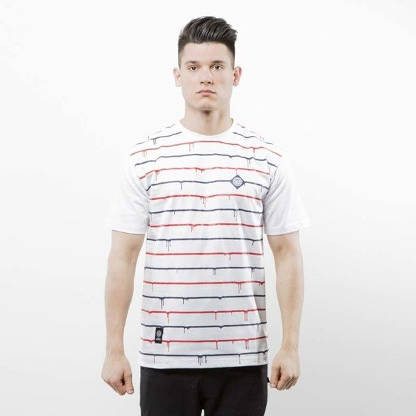 Mass Denim koszulka T-shirt Dripline white SS 2017