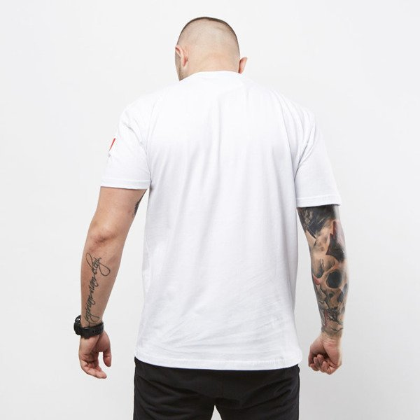 Mass Denim koszulka T-shirt  Flipe white SS 2017