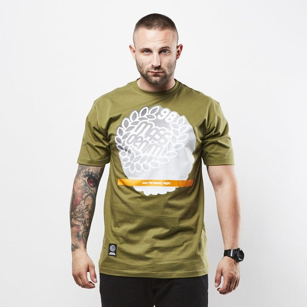 Mass Denim koszulka T-shirt Impress khaki SS 2017