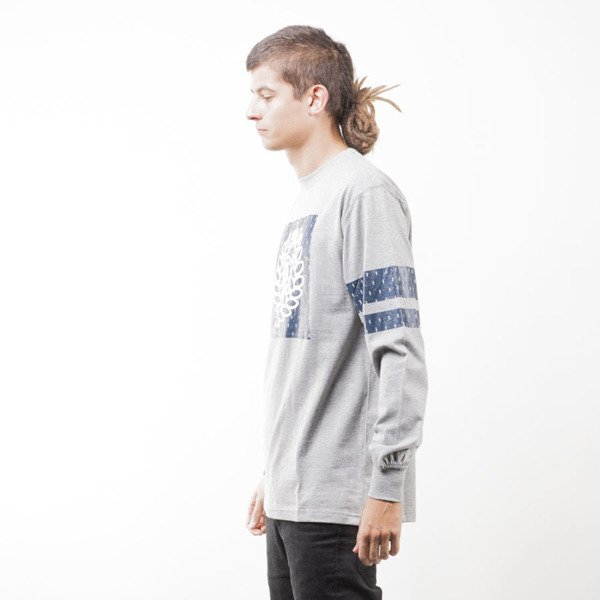Mass Denim koszulka longsleeve Champion light heather grey
