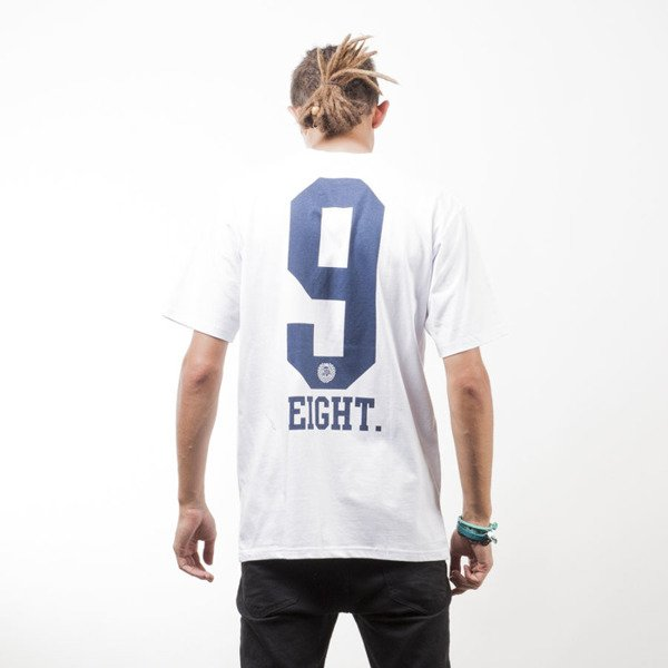 Mass Denim koszulka t-shirt 9 Eight white