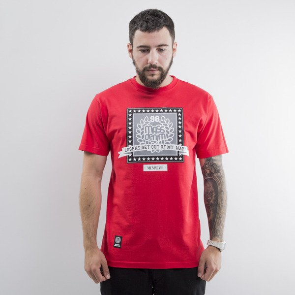 Mass Denim koszulka t-shirt Capitol red