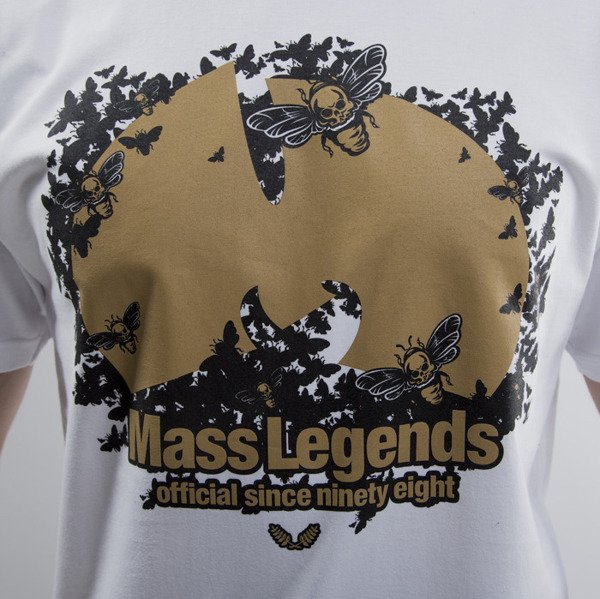 Mass Denim koszulka t-shirt Legends white