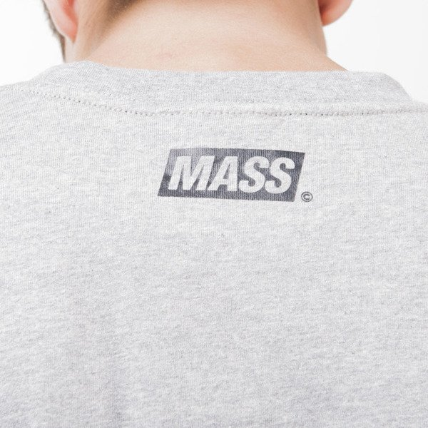 Mass Denim koszulka t-shirt Pocket Cover light heather grey