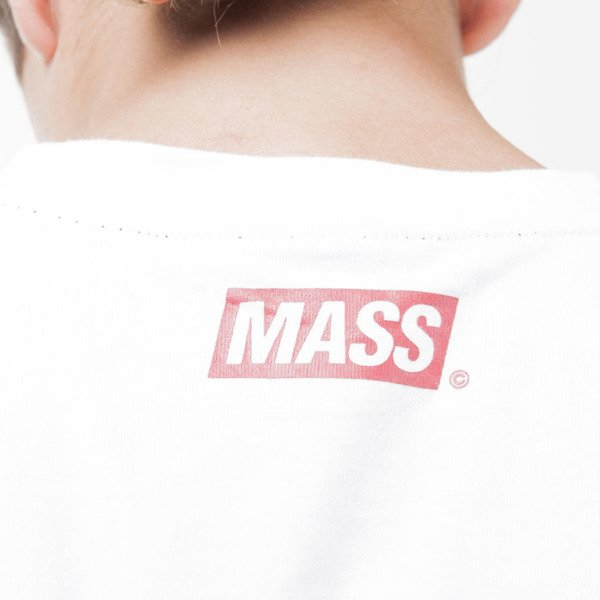 Mass Denim koszulka t-shirt Pocket Cover white