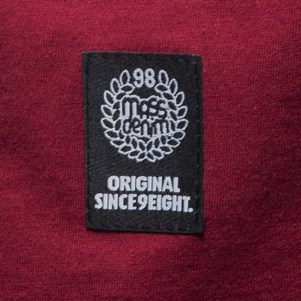 Mass Denim koszulka t-shirt Stamp claret