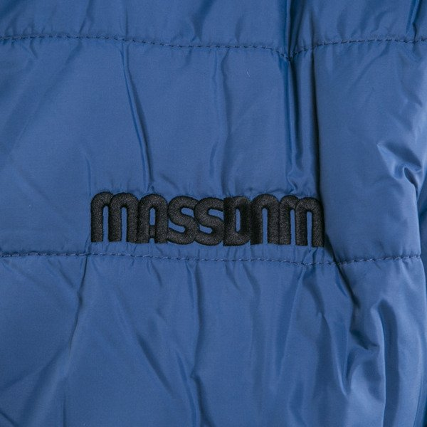 Mass Denim kurtka dwustronna Base blue stone / black