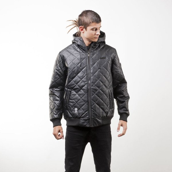 Mass Denim kurtka jacket Flyer Quilted black