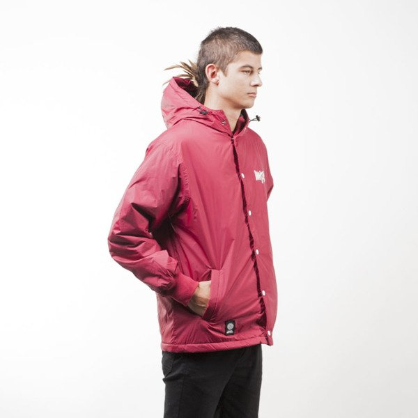 Mass Denim kurtka jacket Signature claret