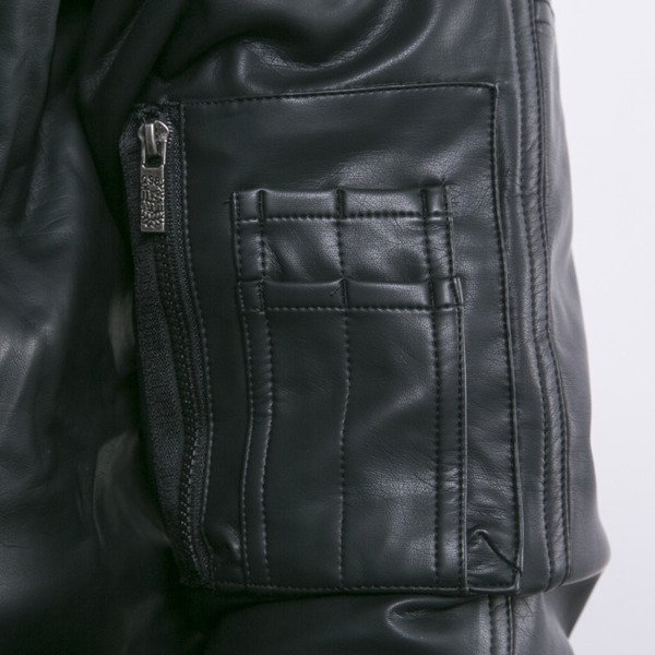 Mass Denim kurtka zimowa Combat Leather black