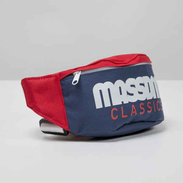 Mass Denim saszetka hipcase Classics Cut navy / red