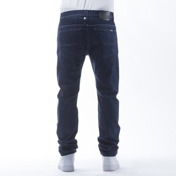 Mass Denim spodnie Jeans Dope tapered fit dark blue