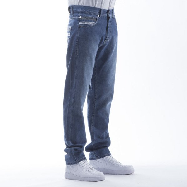 Mass Denim spodnie Jeans Glory regular fit blue
