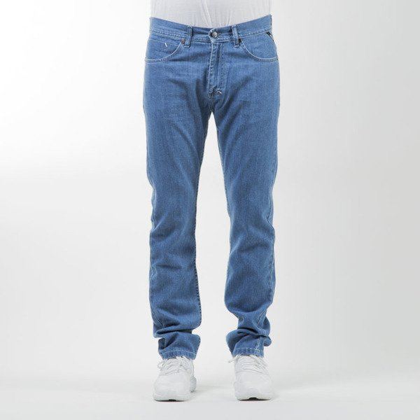 Mass Denim spodnie Jeans Mind tapered fit blue