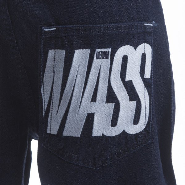 Mass Denim spodnie Jeans Outsized baggy fit rinse