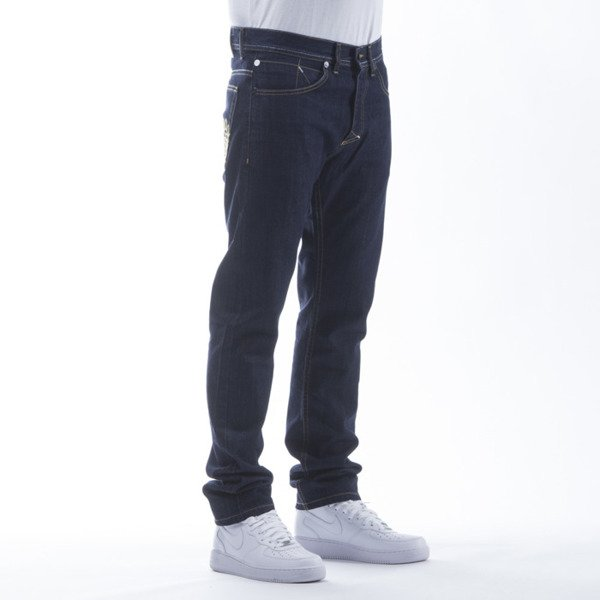 Mass Denim spodnie Jeans Pocket Base tapered fit rinse