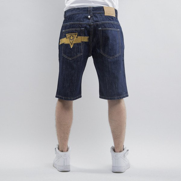 Mass Denim szorty Alpha straight fit rinse