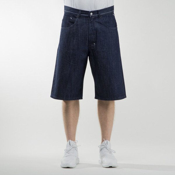 Mass Denim szorty shorts jeans Outsized baggy fit rinse