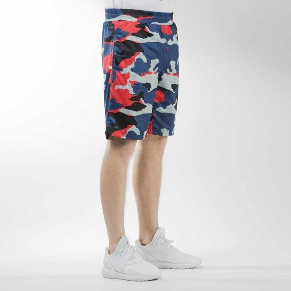 Mass Denim szorty sportshorts Battle mesh navy camo