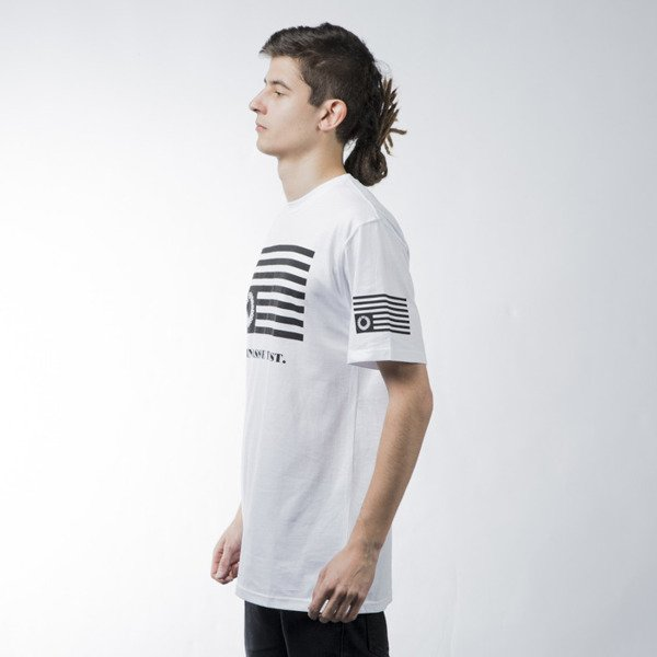 Mass Denim t-shirt koszulka Empire white BLAKK