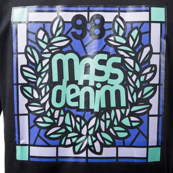 Mass Denim t-shirt koszulka Glassy black