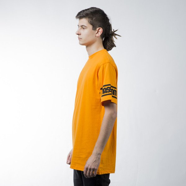 Mass Denim t-shirt koszulka Sleeveless orange