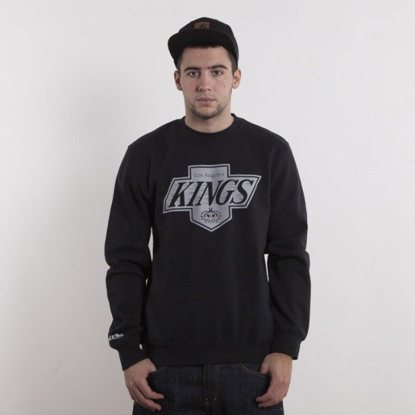 Mitchell & Ness bluza Los Angeles Kings black Team Logo