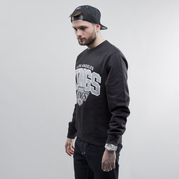 Mitchell & Ness bluza crewneck Los Angeles Kings black Team Arch