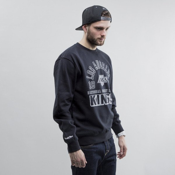 Mitchell & Ness bluza crewneck Los Angeles Kings black Team Established