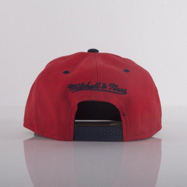 Mitchell & Ness czapka Atlanta Hawks red Team Sonic EU245