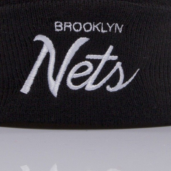 Mitchell & Ness czapka Brooklyn Nets black Team Talk EU175