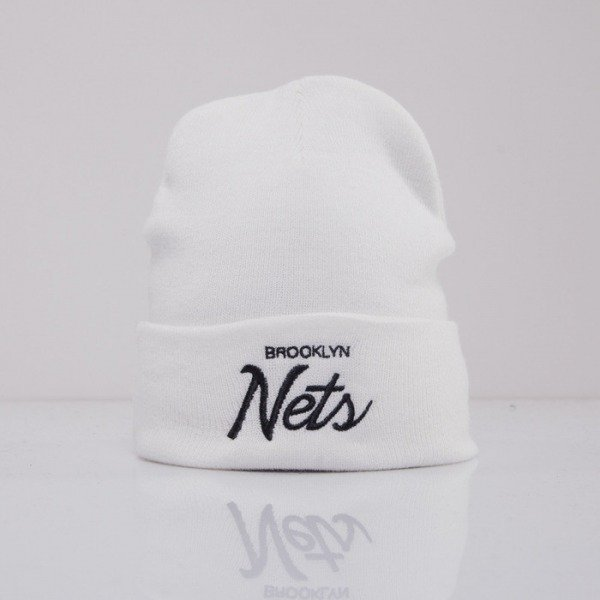 Mitchell & Ness czapka Brooklyn Nets white Team Talk EU175