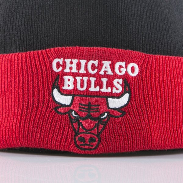 Mitchell & Ness czapka Chicago Bulls black/red 2Tone Cuff EU174