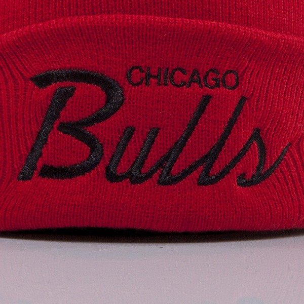 Mitchell & Ness czapka Chicago Bulls red Team Talk EU175