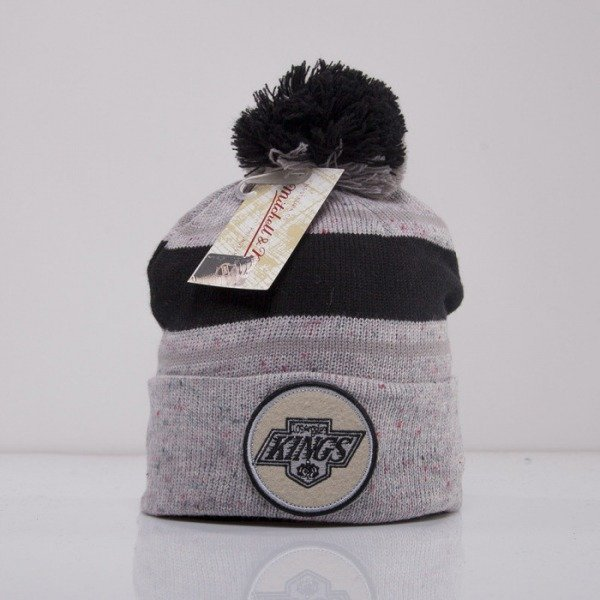 Mitchell & Ness czapka Los Angeles Kings grey Speckled KN40Z