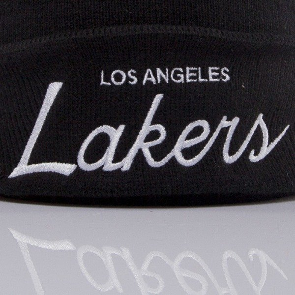 Mitchell & Ness czapka Los Angeles Lakers black Team Talk EU175